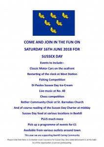Sussex Day Poster