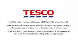 Thank you Tesco _